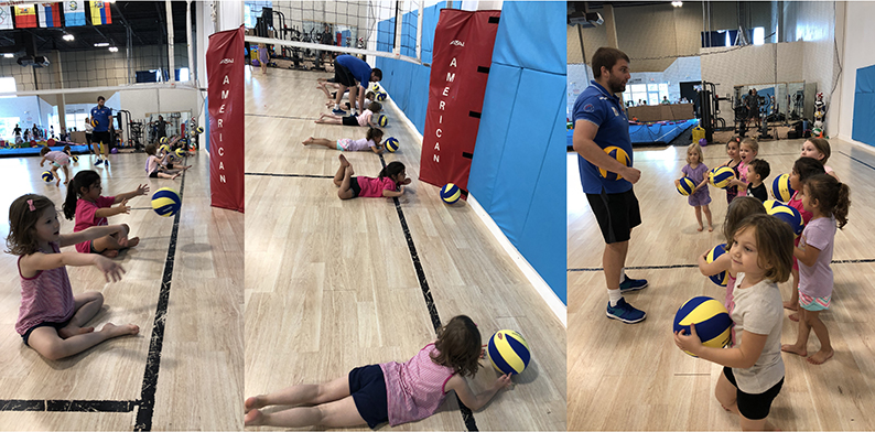 MINI Volleyball Clinics
