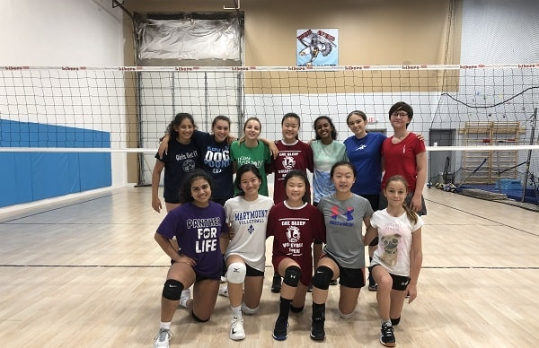 Falls Church City Libero school of Volleyball